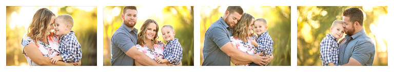 Elicio family photos with their youngest little boy at Tanque Verde Ranch